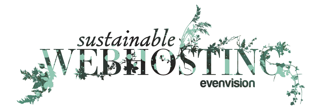 EvenVision proudly offers sustainable green website hosting